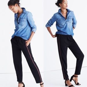 •MADEWELL• Embroidered Track Trousers